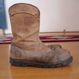 TIMBERLAND Pro Series Men's Steel Toe (12M) Brown
